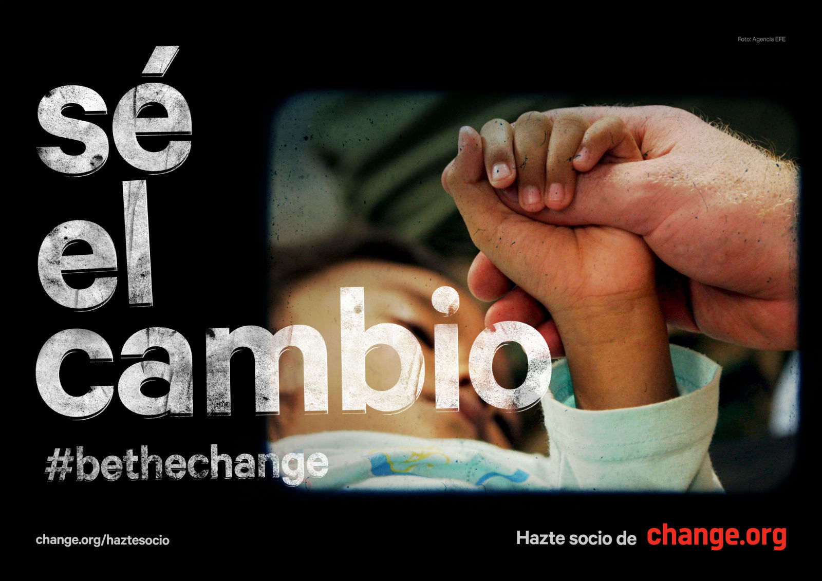 Change.org cambio gráfica