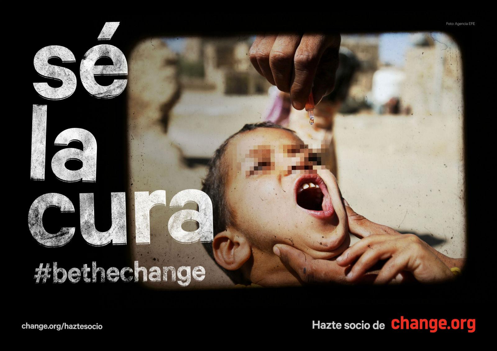Change.org cura gráfica
