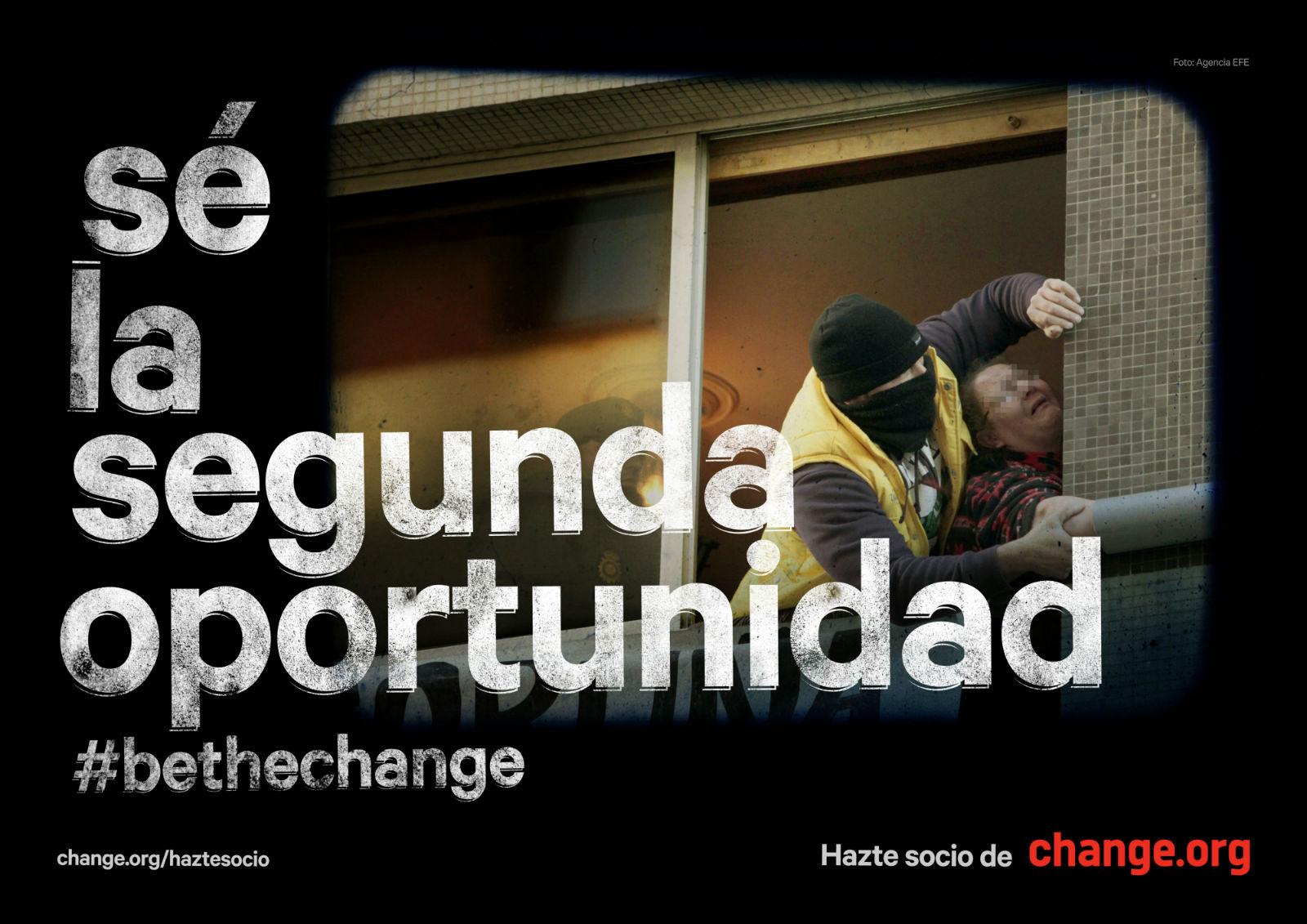 Change.org segunda oportunidad gráfica